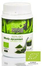 Green Barley Juice Powder 270g Bio Organic Foods Sok Magma Zielony Jęczmień BIO