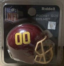Washington Football Team New 2021 Riddell Pocket Pro Helmet in package