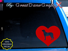Anatolian Shepherd in Heart - Vinyl Decal Sticker / Color Choice - High Quality