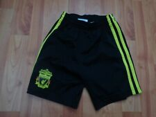 CLASSIC LIVERPOOL 2010-2011 3-4 YEARS AWAY 3RD FOOTBALL SHORTS