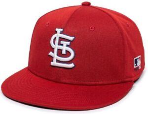 St. Louis Cardinals MLB OC Sports Red Home Hat Cap Proflex Stretch Flex Fit Mens