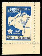 Brazil Poster Stamp - 1948 Janeiro 2. Congresso da Mocidade
