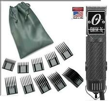 Oster Classic 76 Carbon Fiber Limited Edition Hair Clipper + 10 PC Combs