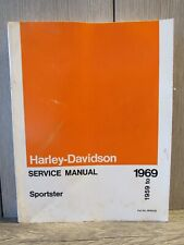 New Listing1959 to 1969 Harley-Davidson Sportster Service Manual Book Models Xl Xlh Xlch