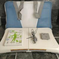 Nintendo Wii Fit Board With Wii Fit Plus Game, Recharge Batteries & Carry Case