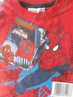 Ultimate Spider-Man Jungen Langarm T-Shirt * 92/98 * Rot * Motiv *Neu*OVP
