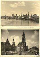 Lot von 6 AK, Dresden, Stadtansichten vor 1945, 1956-1960, Foto Hahn