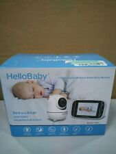 Baby Monitor, HelloBaby Video Baby Monitor with Camera and Audio