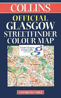 (Good)-Official Glasgow Streetfinder Colour Map (Collins British Isles and Irela