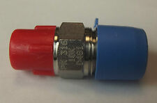 """1/4"""" NPT Reducer to 1/8"""" BSP Male-male Stainless Steel  316 Specification"""