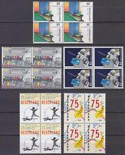 kavel blokjes van 4 zegels 1989 (2) postfris (MNH)