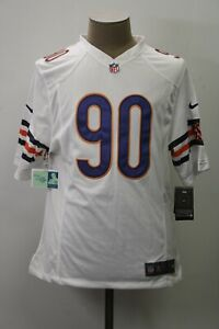 NEW Nike Chicago Bears Mens Small White Short Sleeve Jersey #90 Julius Peppers
