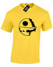 DEATH STAR SILHOUETTE KIDS CHILDRENS T SHIRT TROOPER STORM WARS BOYS TOP