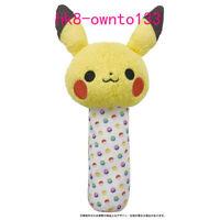 Monpoke Pikachu Baby Plush Toy Stuffed Doll Handbell Cute Pokemon Gift