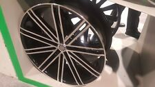 26 inch U2 36 Wheels Rims & Tires fit 6 X 139 Denali, Sierra, Tahoe, Suburban.