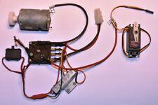 Bycmo Subaru  parts Rc esc, servo, motor deagostini