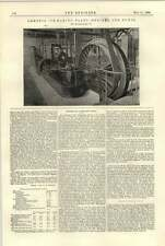 1896 Ammonia Icemaking Plant Engine Pumps Sheffield Pulsometer