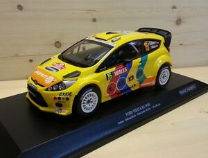Ford Fiesta RS WRC Stobart Solberg / Minor Wales 2011 - 1:18