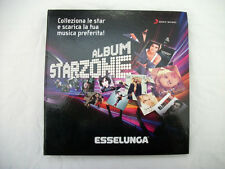 Album Starzone Esselunga Completo 96 Carte Sony Cards Collezione Cantanti