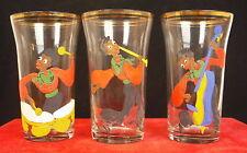 Three Glasses 1900 Black Musicians Charleston Painted par Dap Glasses Music