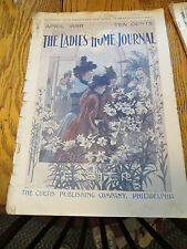 LADIES' HOME JOURNAL MAGAZINE APRIL 1898 - A HEAVEN-KISSING HILL BY MAGRUDER