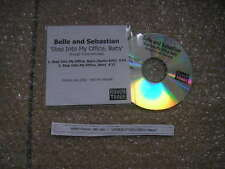 CD Indie Belle and Sebastian-step into my office B' (2) canzone PROMO Rough Trade