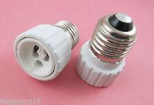 E27 to GU10 Socket Base LED Halogen CFL Light Bulb Lamp Adapter Converter Holder