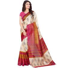 Bhagalpuri Silk Saree Indian Designer Sari Bollywood Ethnic Traditional Party