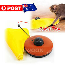 Electronic Kitten Cat Meow Have Fun Toy Rotating The Mouse Chase Interactive
