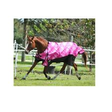 Pink Prism Turnout Blanket For Horses Waterproof Breathable 87 Inches