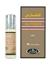 6 Pack Al Fares by Al Rehab 6ml Roll On Peppery Sweet Fragrance Perfume