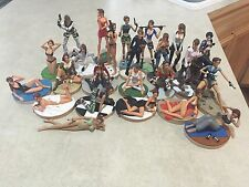 Tomb Raider Resin Figures Lot Of 35