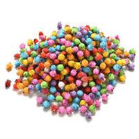 1000pcs 10mm Mixed Color Fluffy DIY Soft Pom Poms for kids Crafts Round 、PopC bg