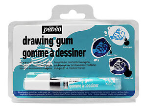 Pebeo Drawing Gum Synthetic Masking Fluid Marker Pen for Watercolour & Ink