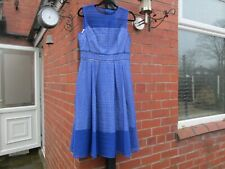 Coast Blue Broderie Dress Size 16