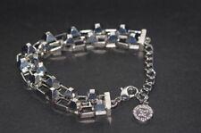 Double Chain Bracelet Bcbgeneration Silver Tone