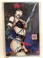 CHASTITY Theater of Pain #2B Wizard AE Exclusive Cover SIGNED Pulido -1997 NM-MT