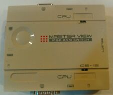 CS-12 Master View PS/2 Mini KVM Switch Keyboard Video Mouse Control Unit 12 CPU