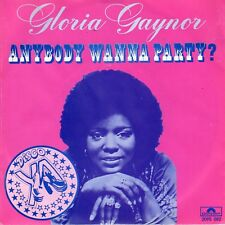 7inch GLORIA GAYNORanybody wanna partyHOLLAND 1978 EX(S0010)