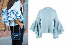 Linen 3/4 Sleeve Hand-wash Only Casual Tops for Women