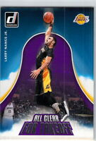 2017-18 Panini Donruss Larry Nance Jr. All Clear For Takeoff Insert Card #14 LAL