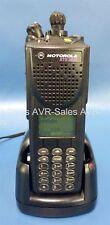 Motorola XTS3000 Programmable FM Handie-Talkie Radio H09UCH9PW7BN Impres Charger