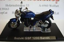 Suzuki GSF 1200 Bandit blau 2000  Topmodell  1:24