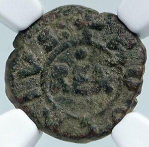 1190-94 KINGDOM of SICILIES Naples & Sicily 120 Grana Silver Coin NGC i87856