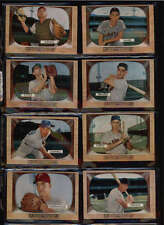 1955 BOWMAN BASEBALL LOT OF 61 CARDS WITH STARS VG-EX TO EX LOT1596