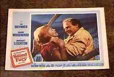 SOUND AND THE FURY 1959 LOBBY CARD #2 CHOKING SCENE