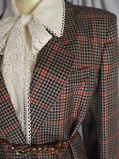 DORENE Khaki Check Heritage Irish Wool NWT Skirt-Suit XL / UK 16 / EU 42 / US 10