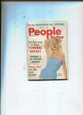 People Today Vol 13 #5 Mamie Van Doren Sex Story The State Dept. Killed  MBX85