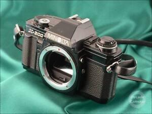 Black Minolta X300 35mm Film Camera Body - VGC - 516