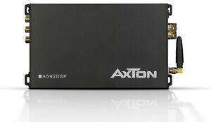 Axton A592DSP Petit 4-Kanal Voiture Amplificateur Son Processeur App 600 W